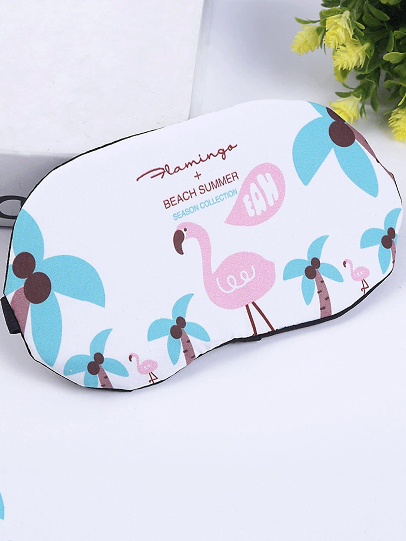 Купить Фламинго для печати глазной маски, null, SheIn