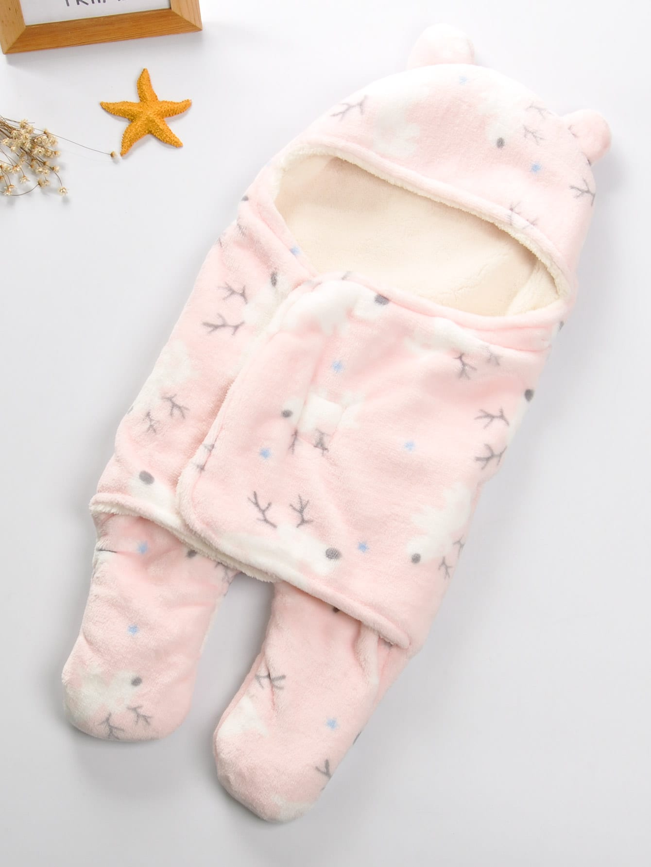 Cartoon Baby Blanket With Legs