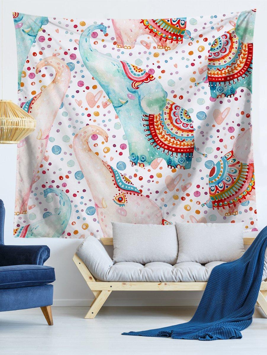 Купить Настенный гобелен с рисунком слона, null, SheIn