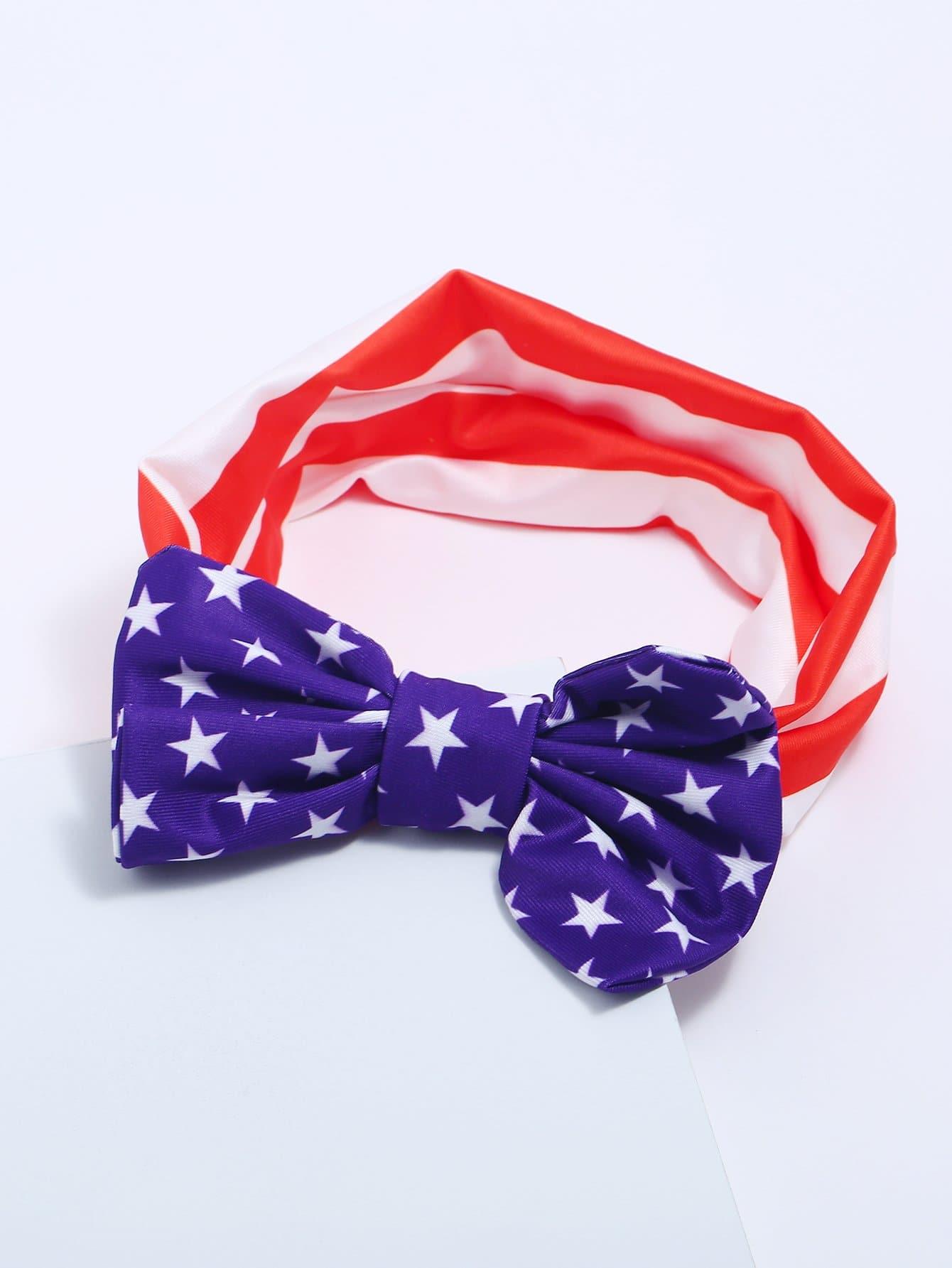 Купить Украшенный повязкой для девочек Bow Bow, null, SheIn