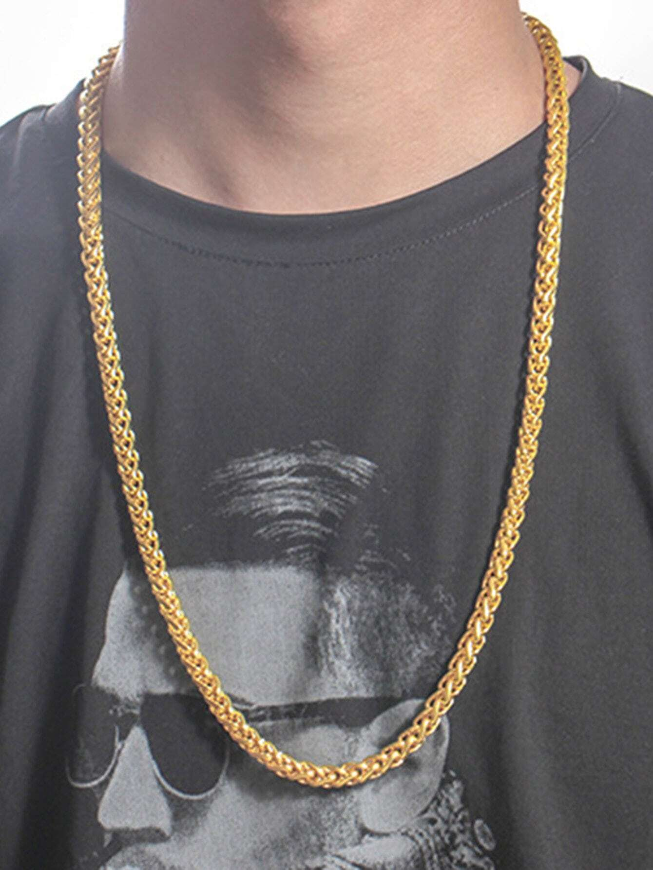 Men Thick Chain Necklace