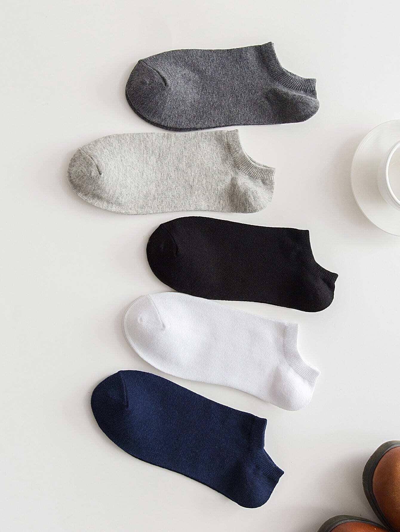 Простые носки 5пары