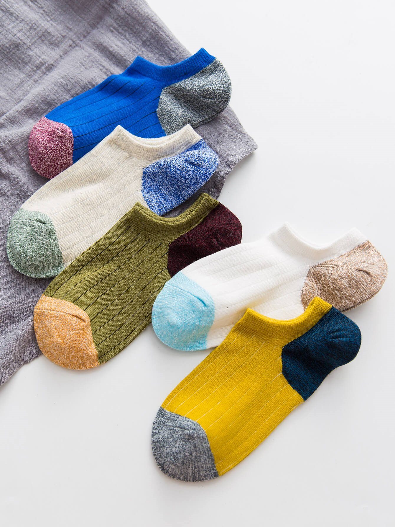 Цвет блока носки 5пары