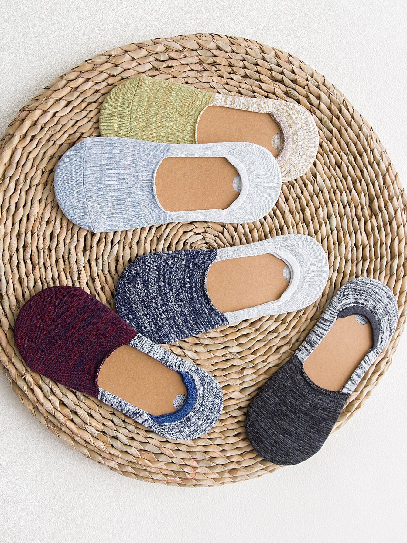 Пространство краситель невидимые носки 5пары