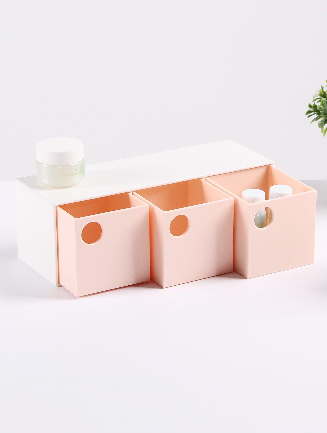 3 Schubladen Schreibtisch Organizer