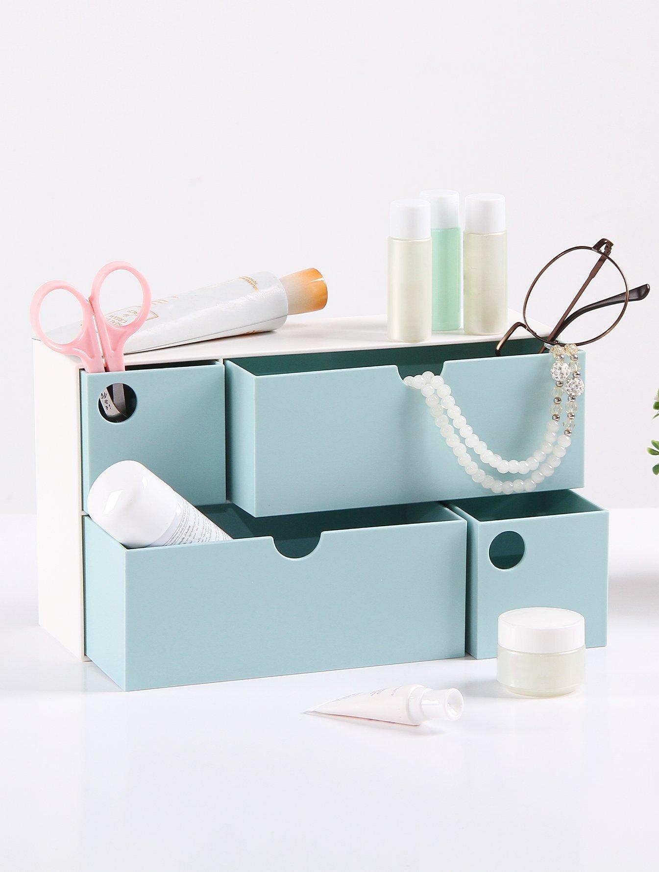 4 Schubladen Schreibtisch Organizer