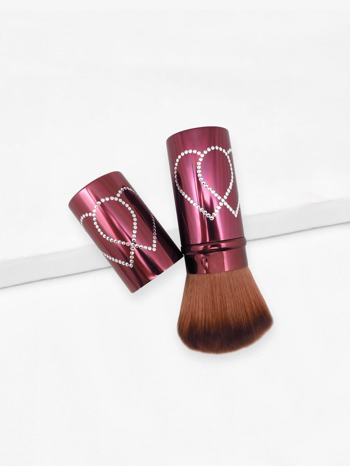 Soft Makeup Brush 1pc With Cover