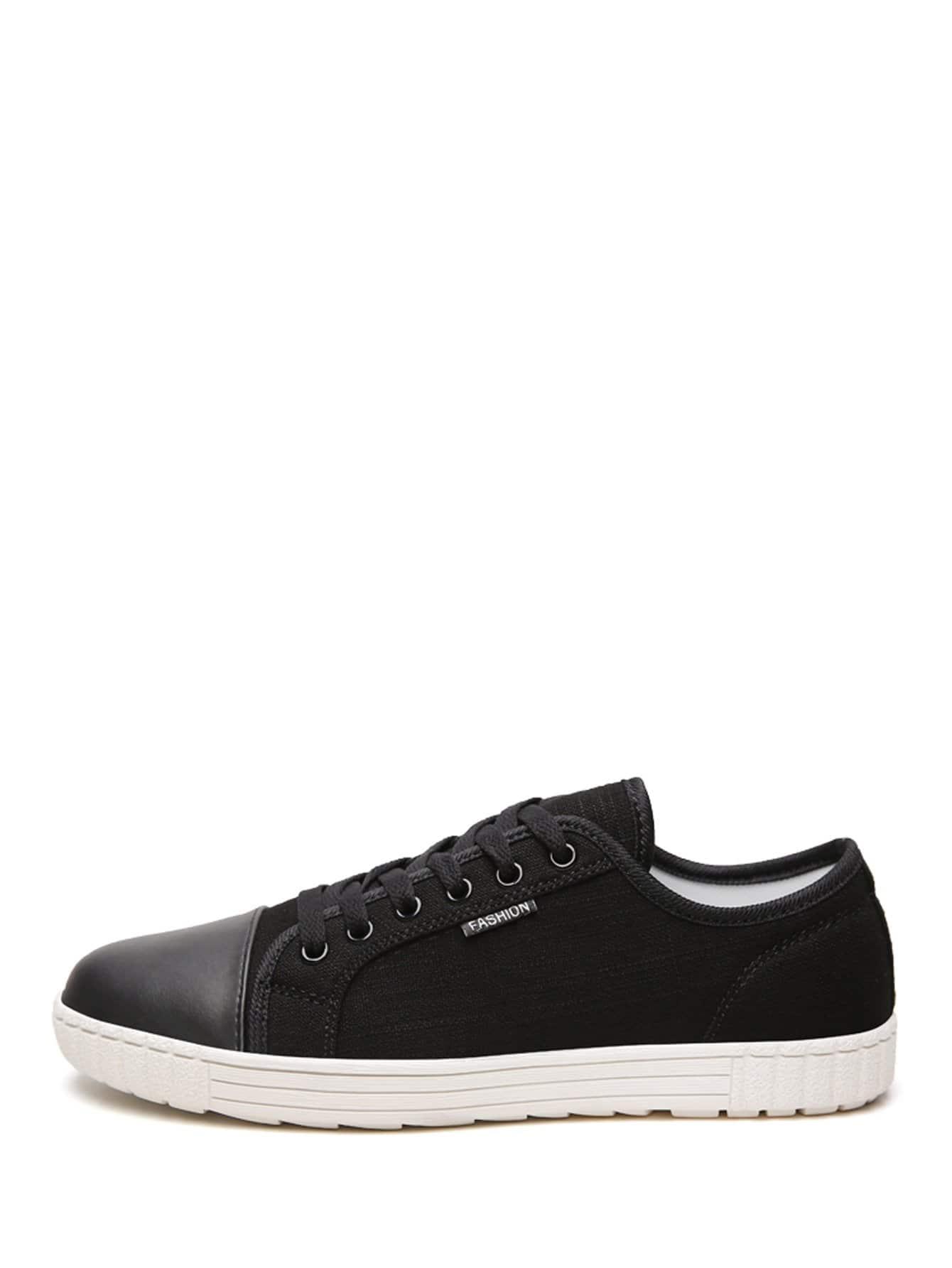 Купить Мужские кружевные кроссовки, null, SheIn