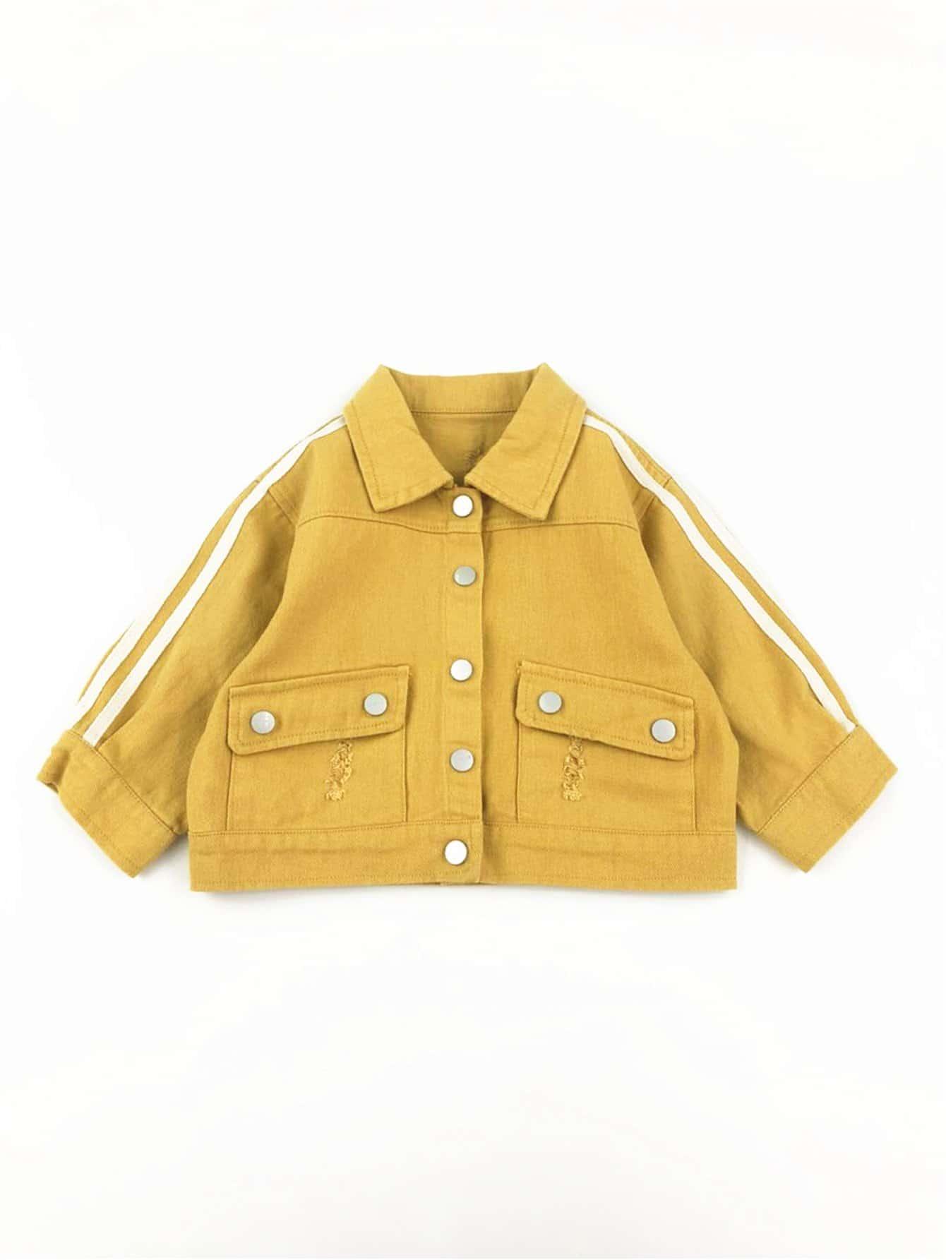 Кнопка Мальчики Деталь Куртка