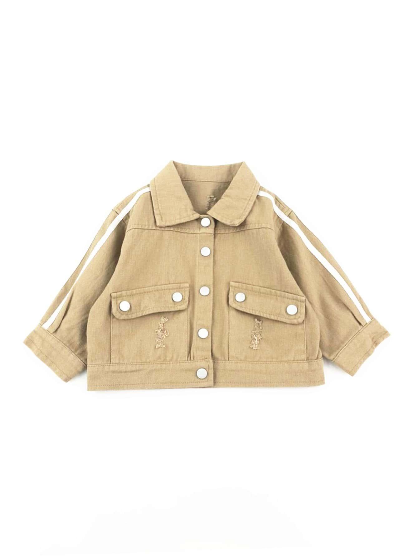 Boys Button Detail Jacket