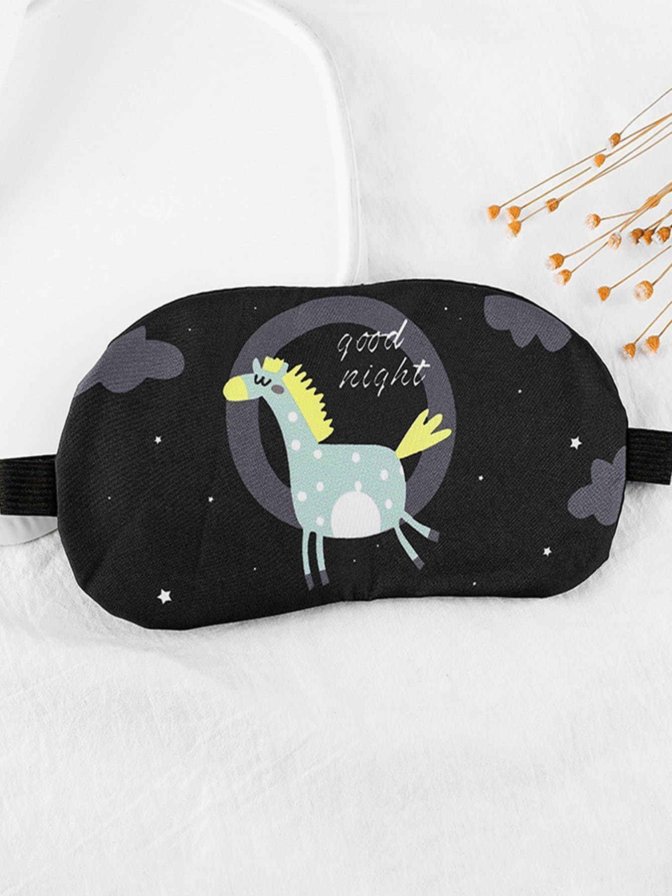 Horse Print Eye Mask varta аккумулятор agm ytx9 bs