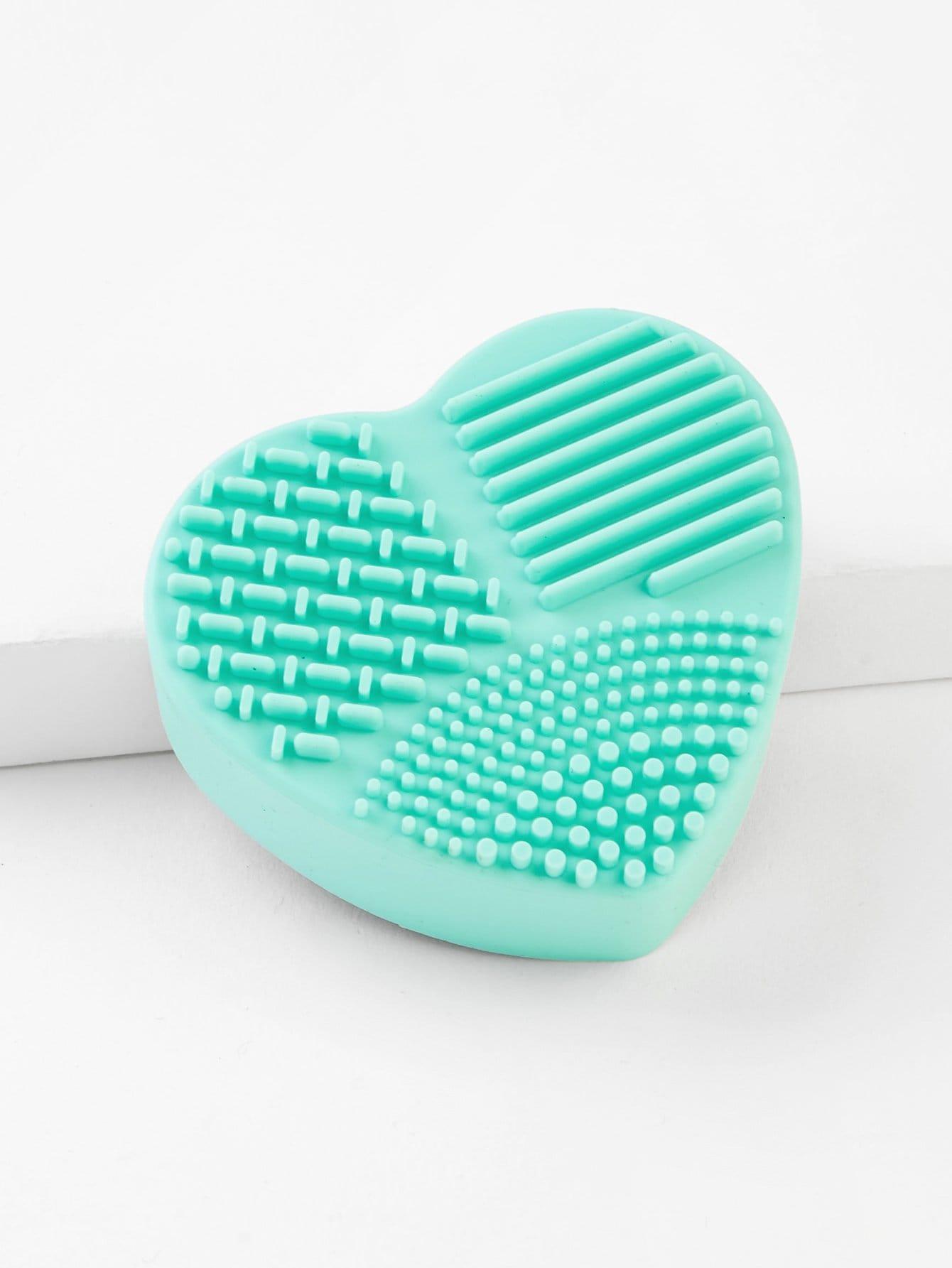Купить Чистая кисть для макияжа в форме сердца, null, SheIn