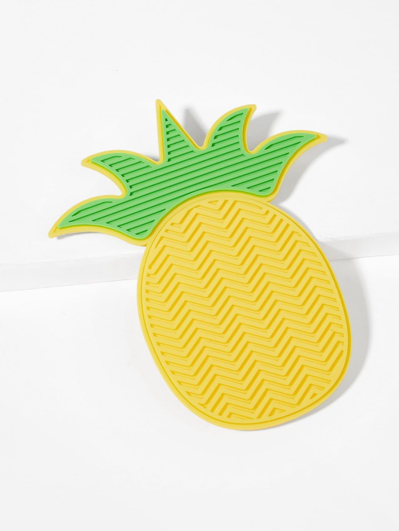 Ananas-geformter Make-upbürsten-Reiniger