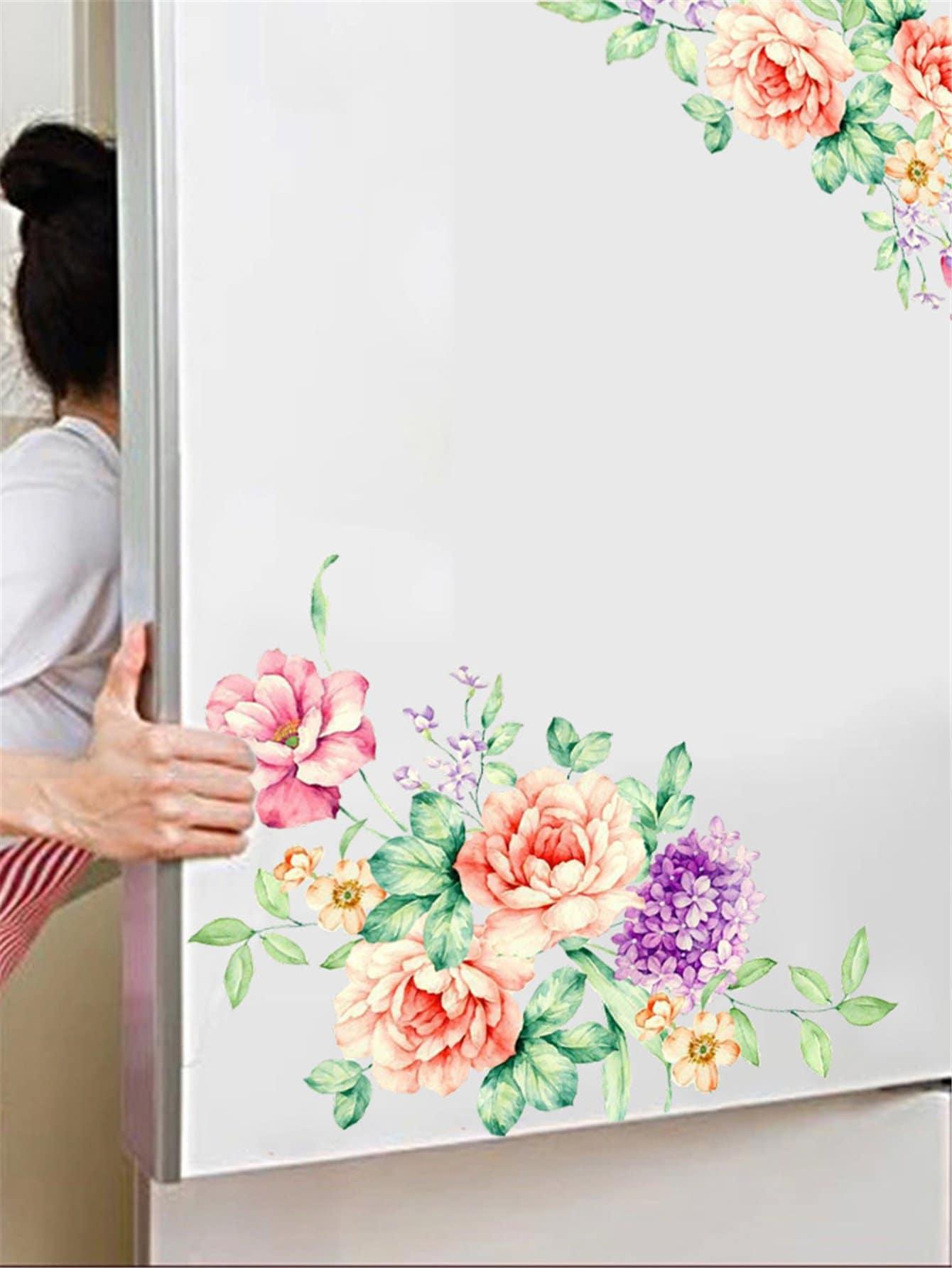 Купить Наклейка с цветочным дизайном, null, SheIn