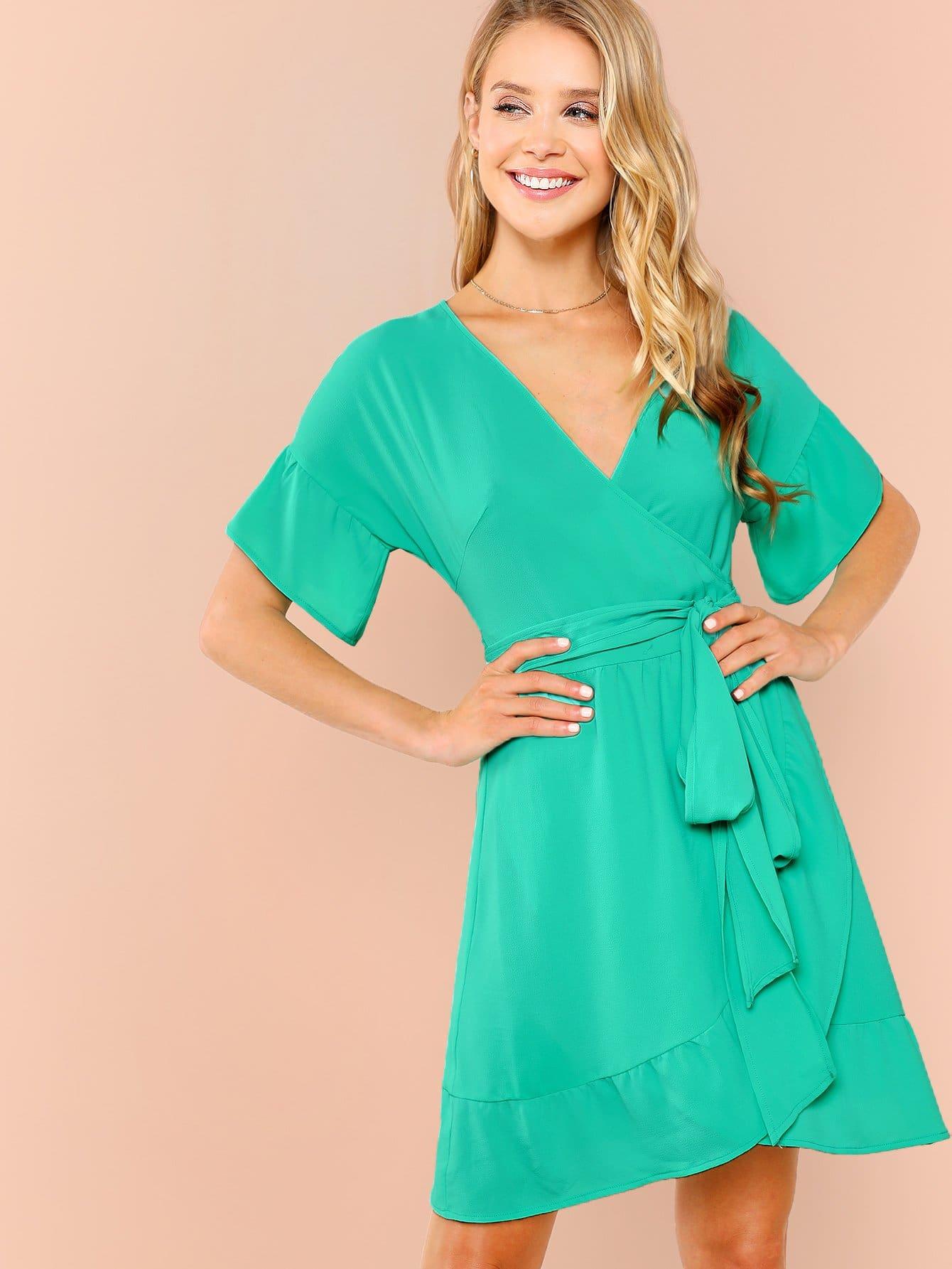 Купить Платье для обертывания, Allie Leggett, SheIn
