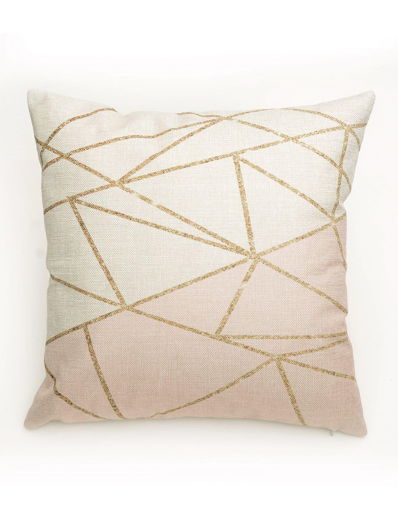 Geometric Pattern Design Cushion Case подушка lien a вега массажная