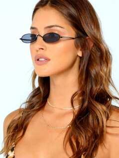 Oval Lenses Sunglasses