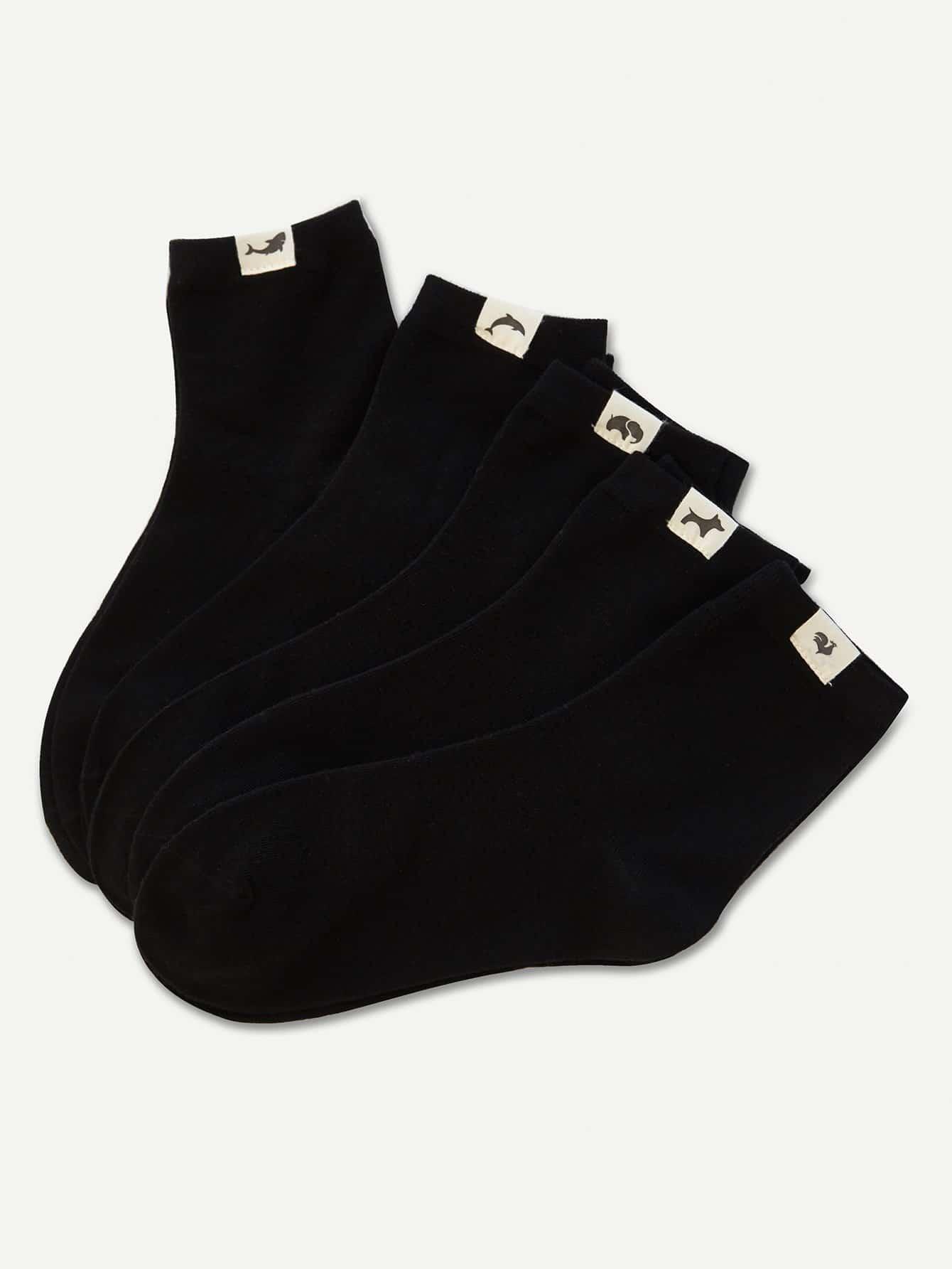 Tiermuster Socke 5pairs
