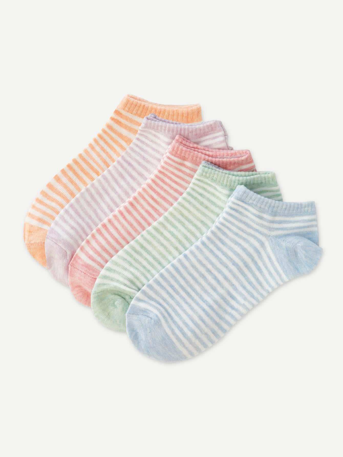 Gestreifte Socke 5pairs