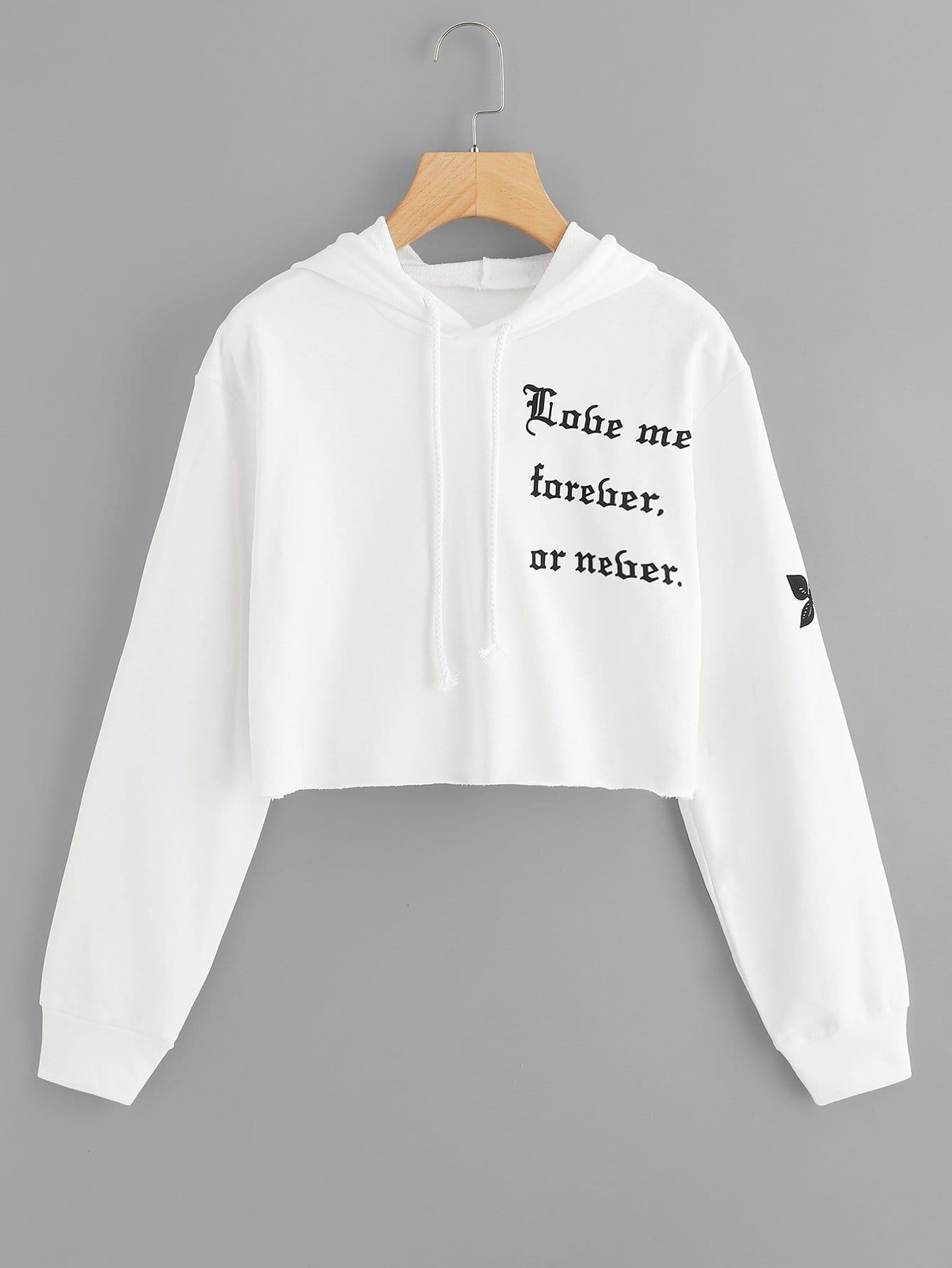 Купить Пуловер со ситцевыми рукава и рольный подол, null, SheIn