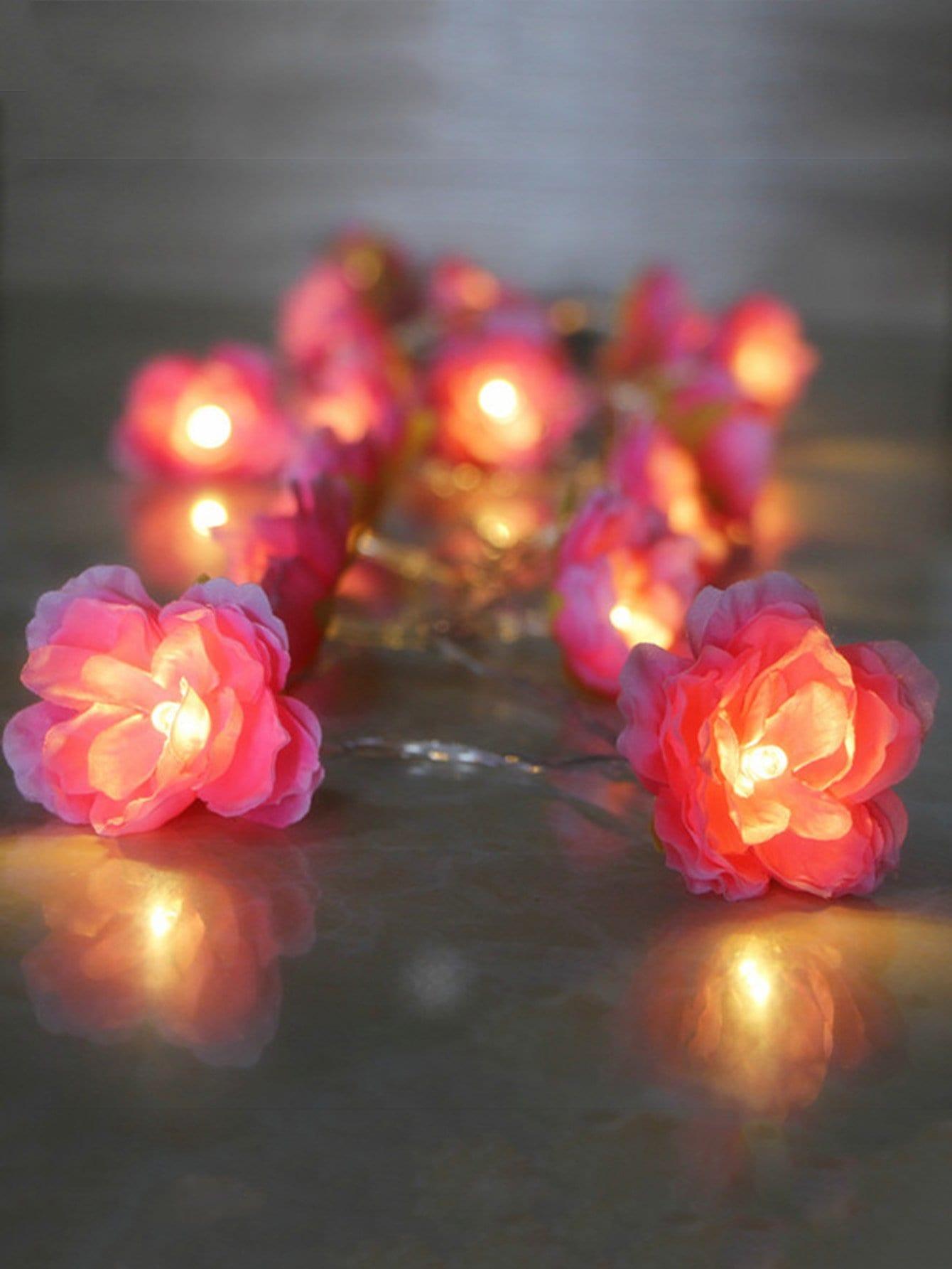 20pcs Flower Bulb String Light