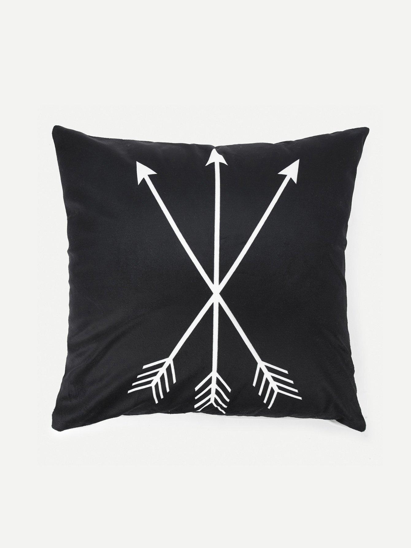 Arrow Print Pillowcase Cover 1PC