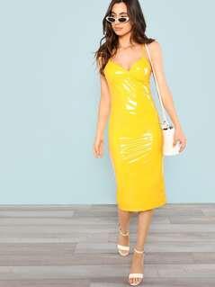 Form Fitting Cami Dress