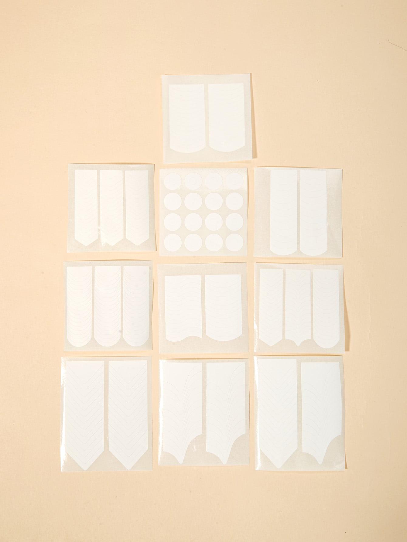 Купить Многообразная наклейка для ногтей 10 шт., null, SheIn