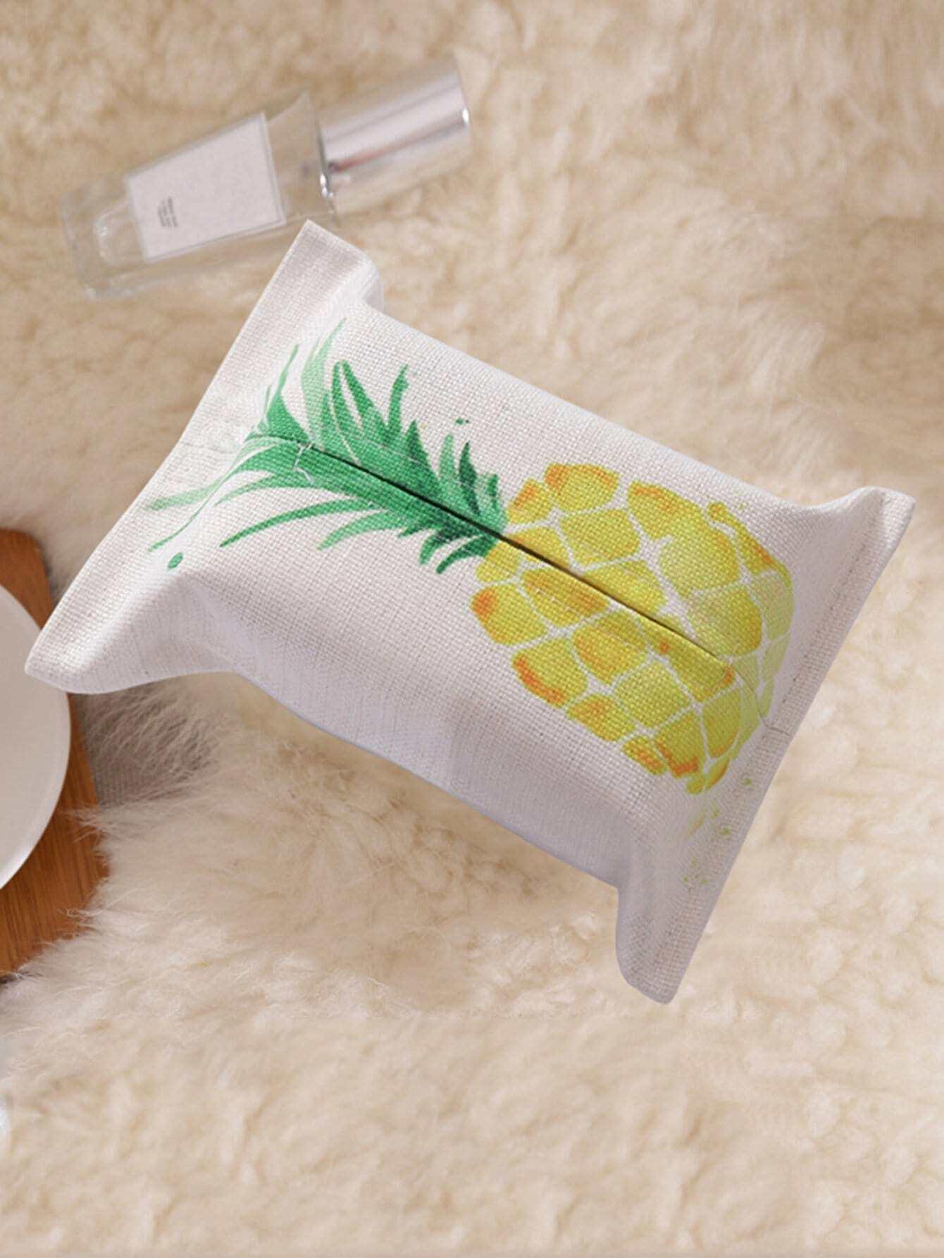 Ananas Muster Tissue Box