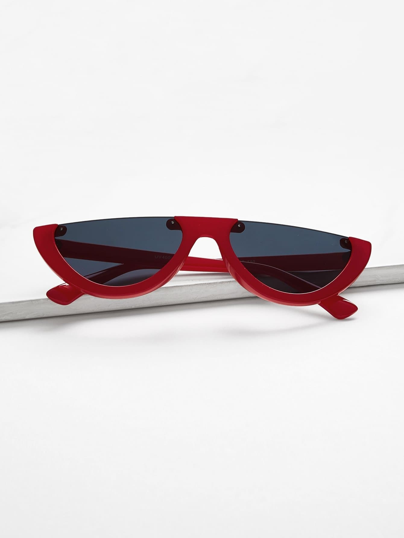 Semi Rimless Flat Top Sunglasses колесные диски replay ki92 7 5x19 5 114 3 et50 d67 1 gmf