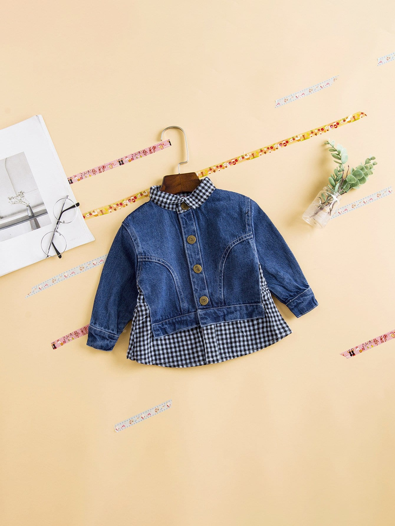 Girls 2 In 1 Denim Jacket
