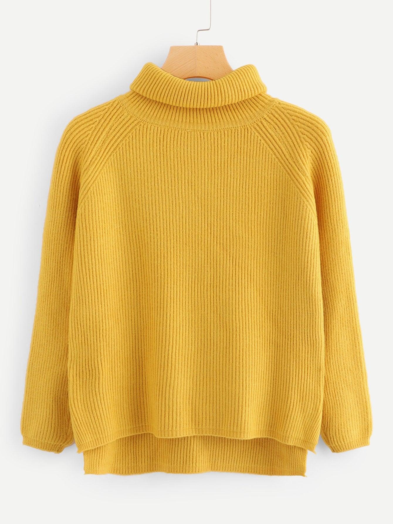 Asymmetrischer Reiner Pullover
