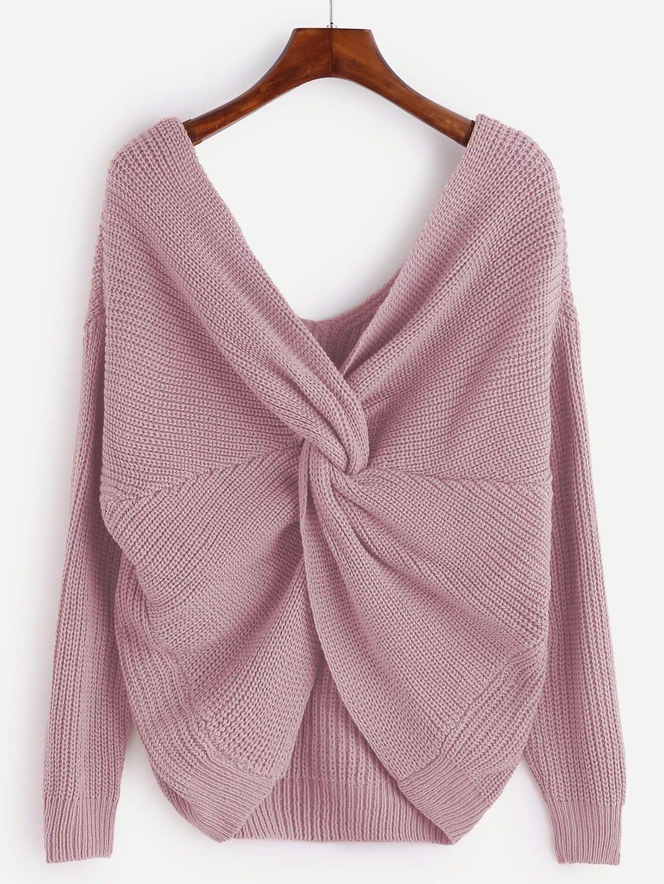 Plus Twist Knit Sweater
