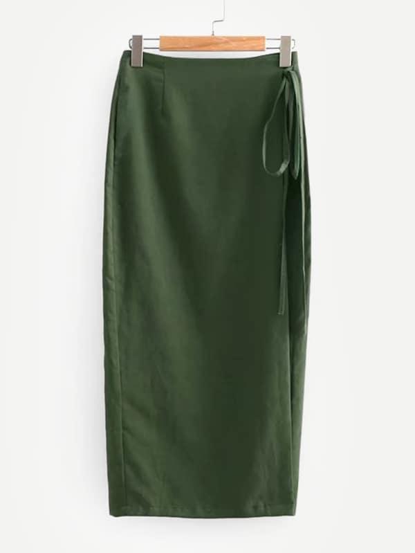 Простая мини юбка