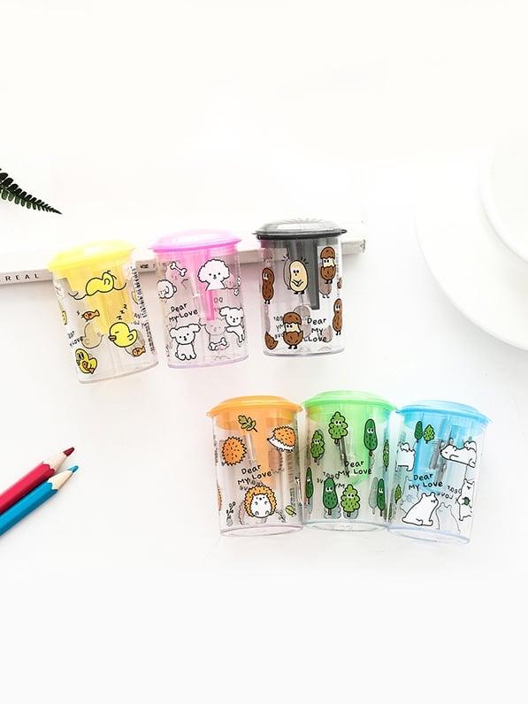Купить Точилка для карандашей со случайных цветов 1 шт, null, SheIn
