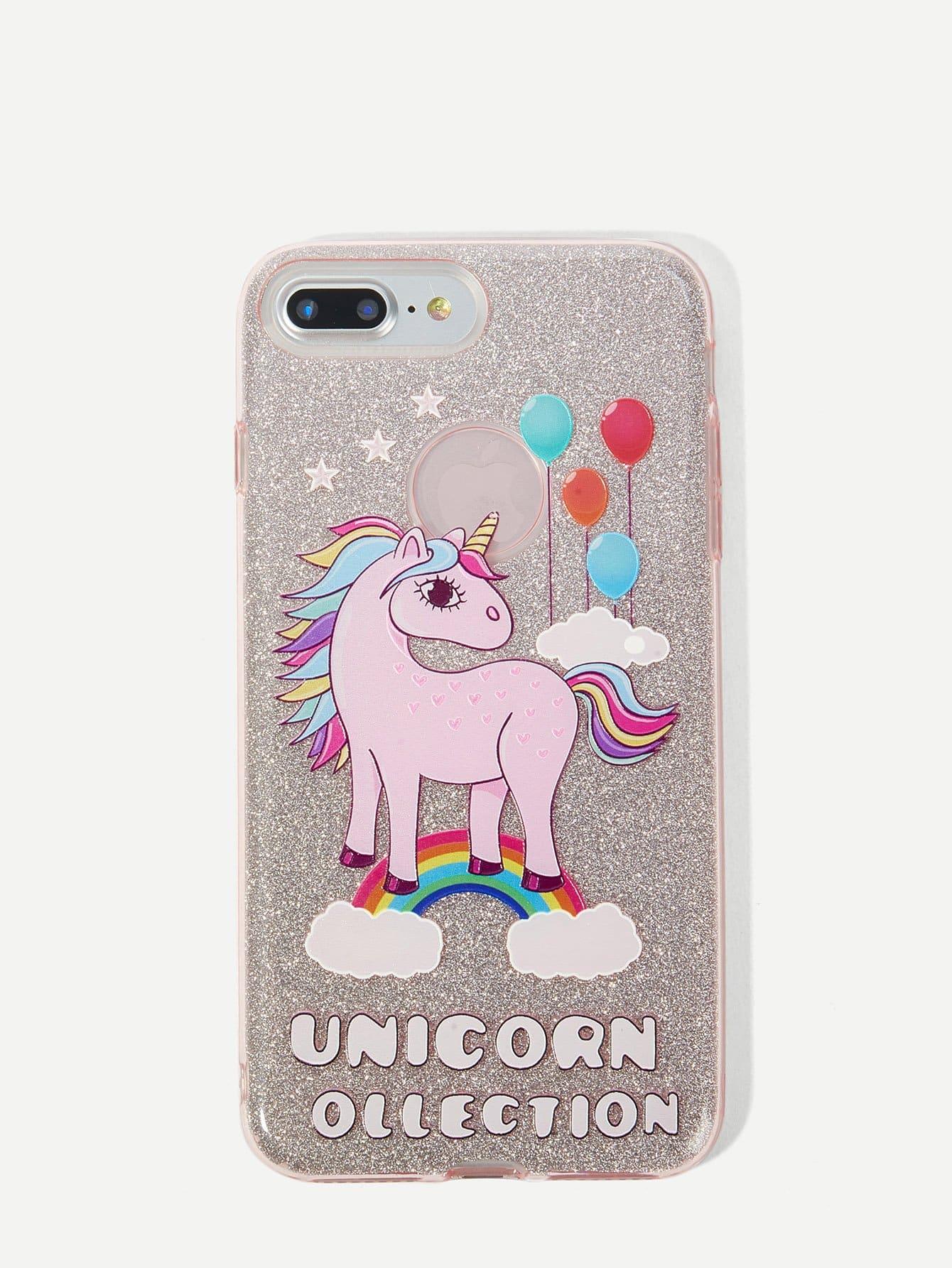 Unicorn Print iPhone Case
