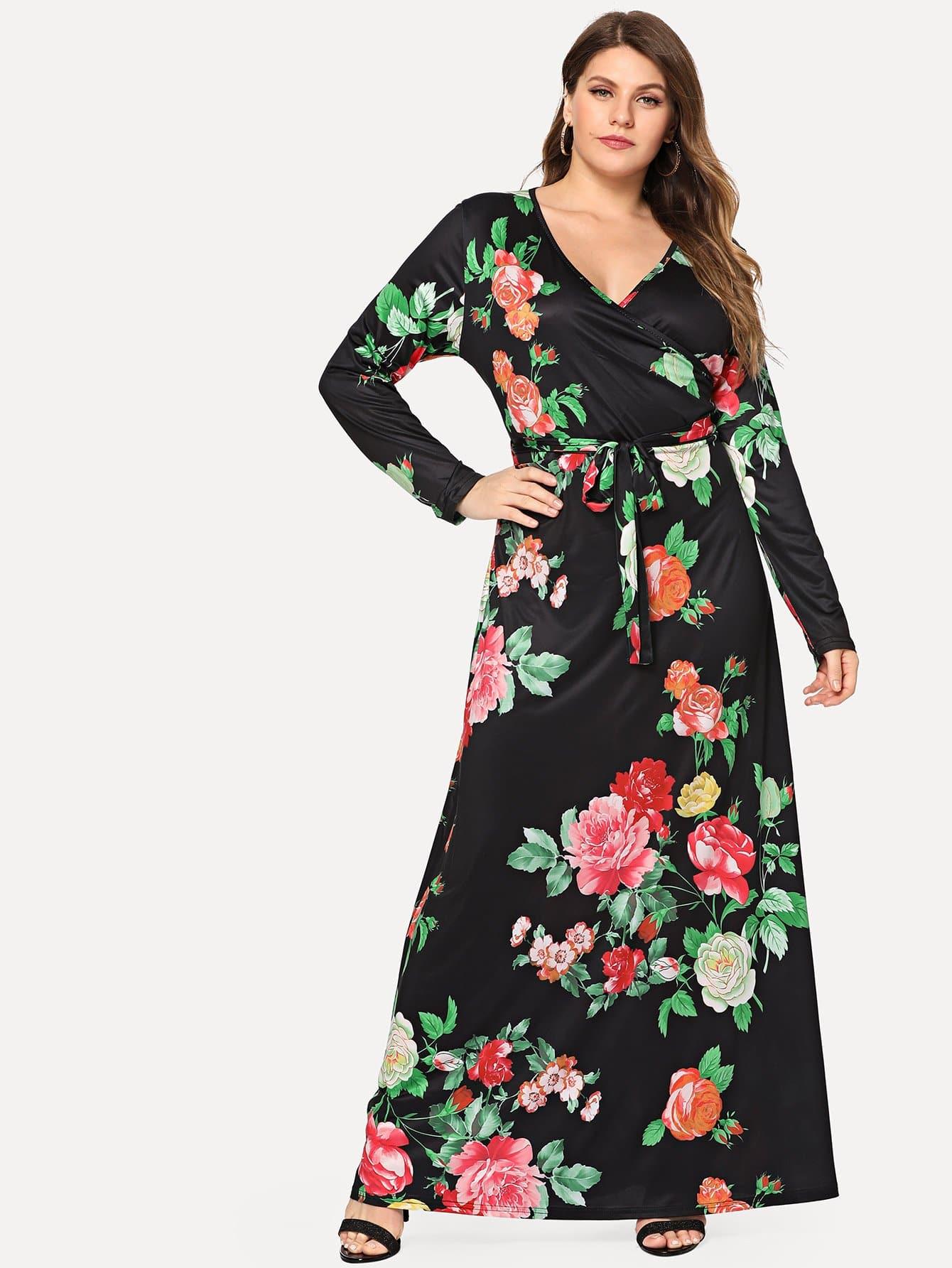 Купить Платье с длинным рукавом с длинным рукавом, Isabela, SheIn