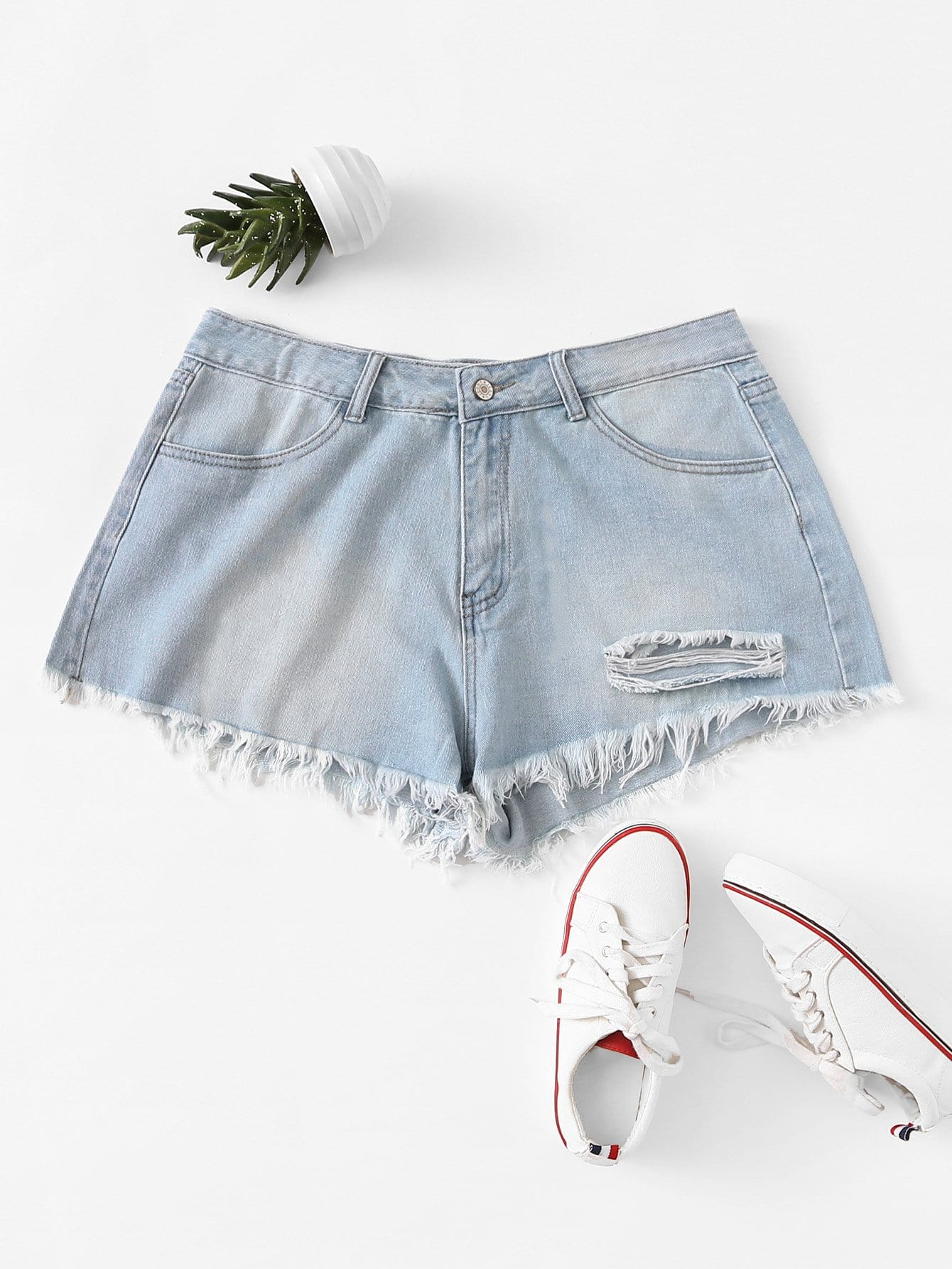 Plus Light Wash Frayed Denim Shorts велосипед giant scr 1 2015