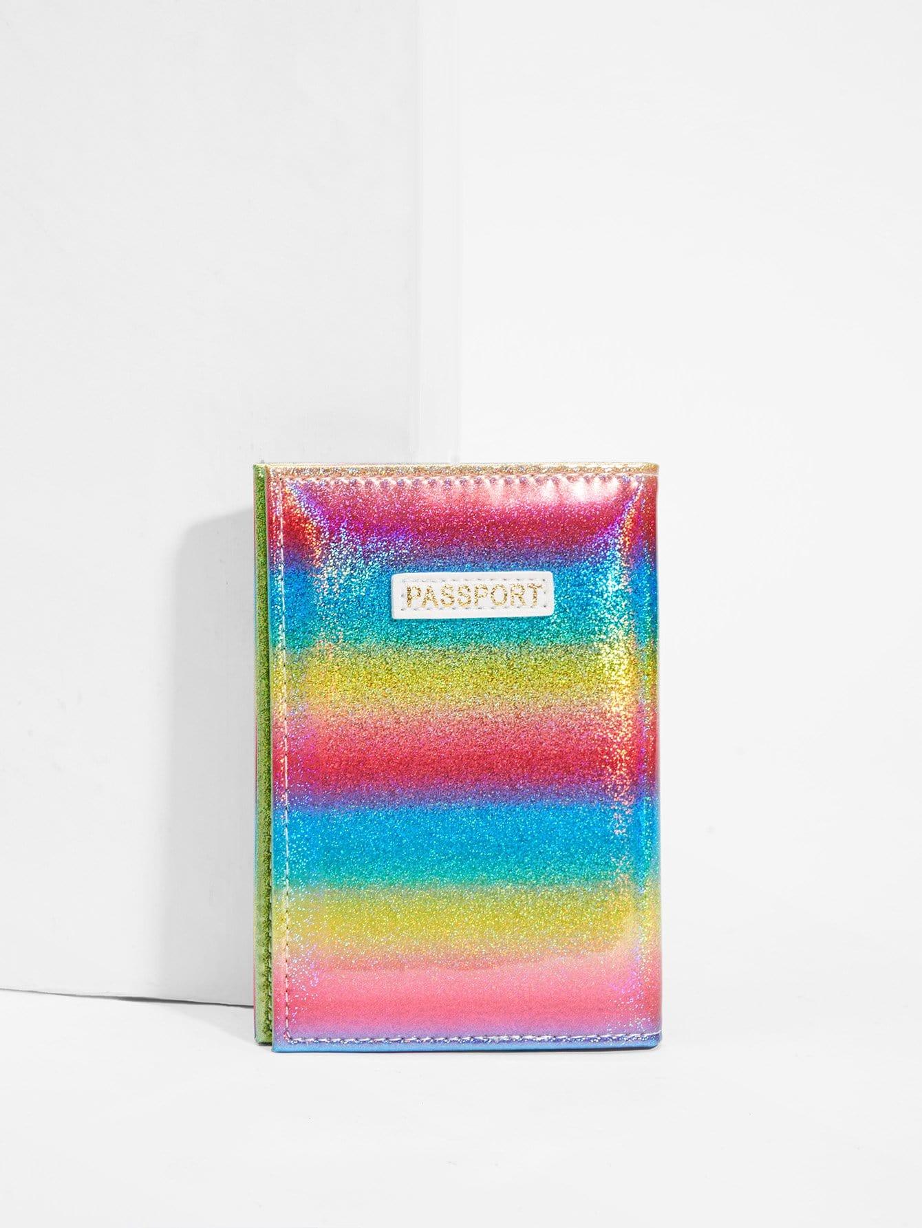 Coloré, Paillettes Pochette Pour Carte
