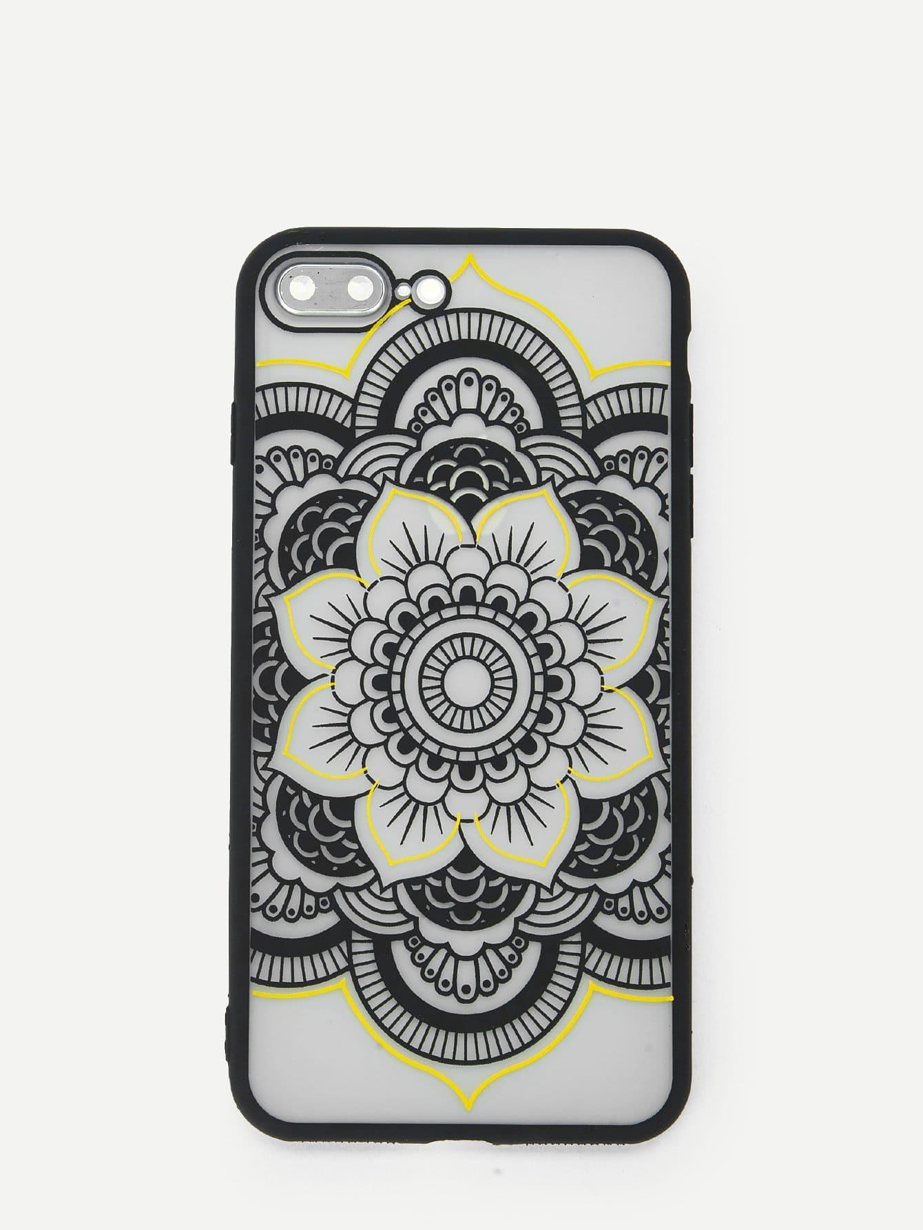 Купить Корпус сотового телефона для iPhone с рисунком кактуса, null, SheIn