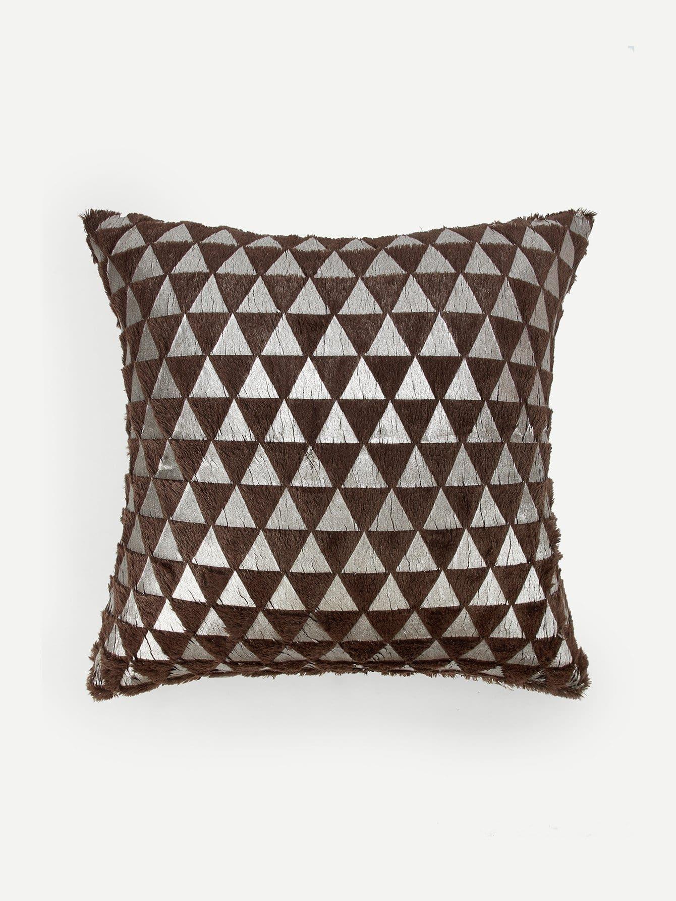 Купить Наволочка с рисунками геометрических фигур 1 шт, null, SheIn