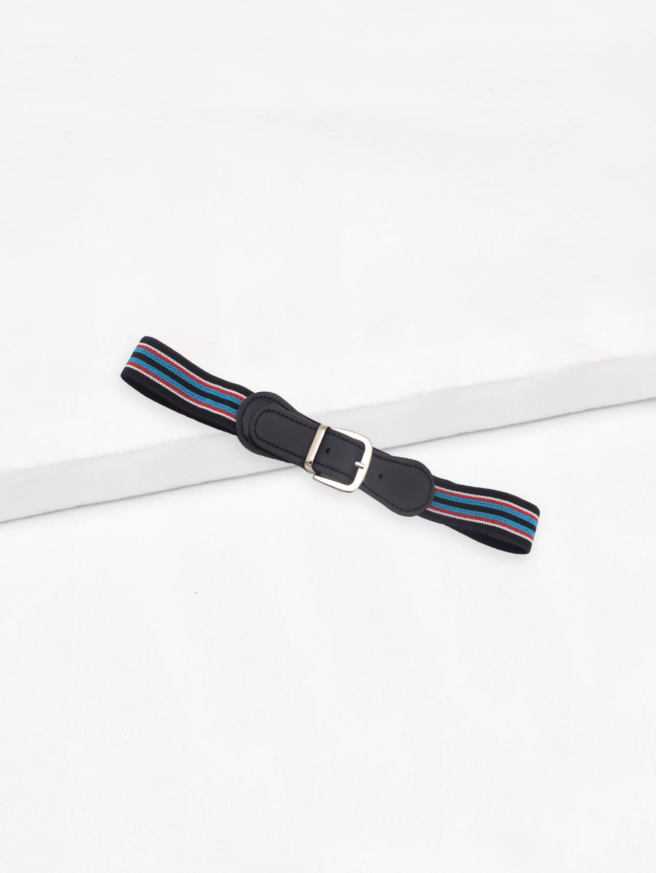 Kids Striped Elastic Belt