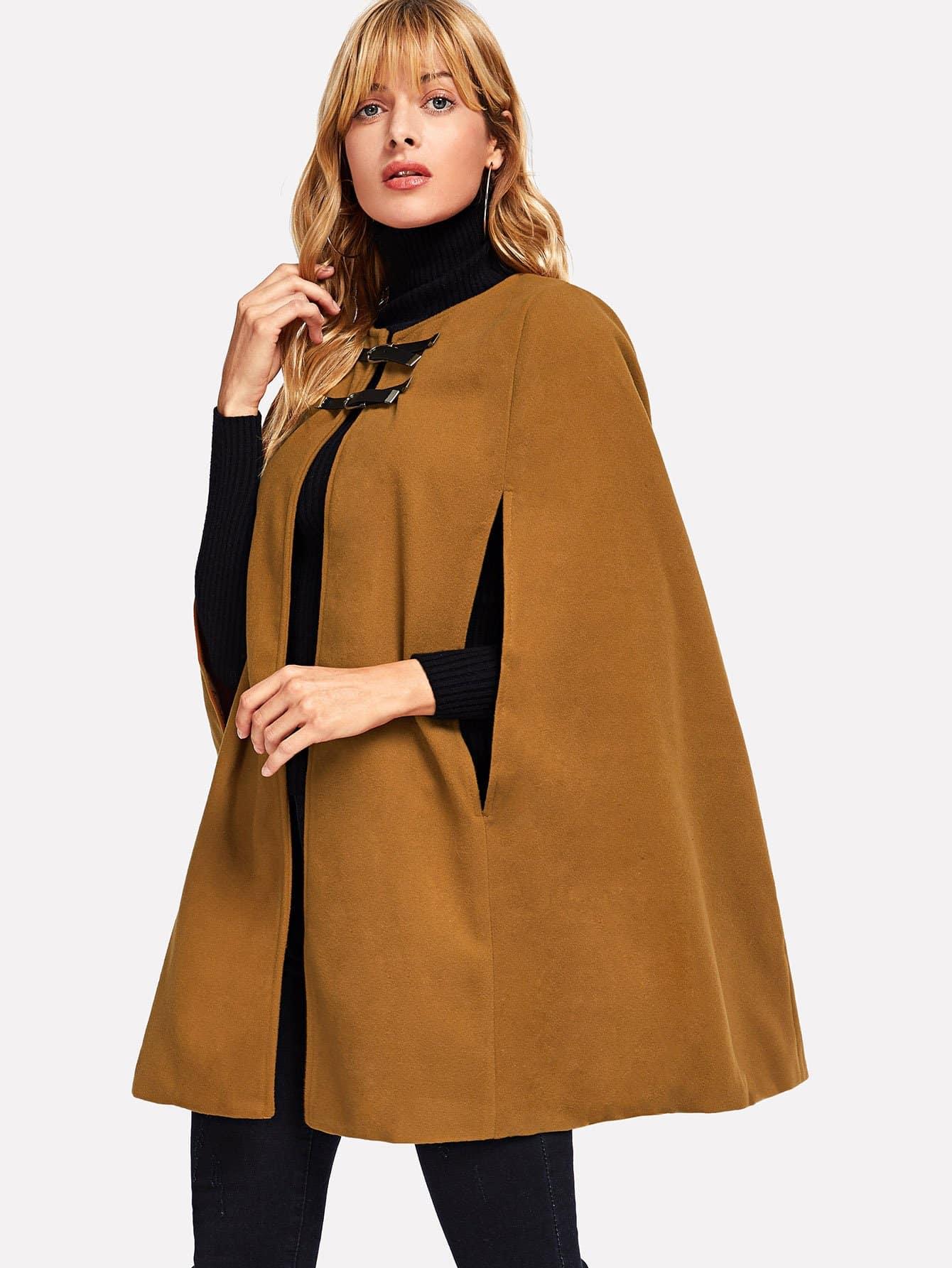 Купить Простое пальто, Masha, SheIn