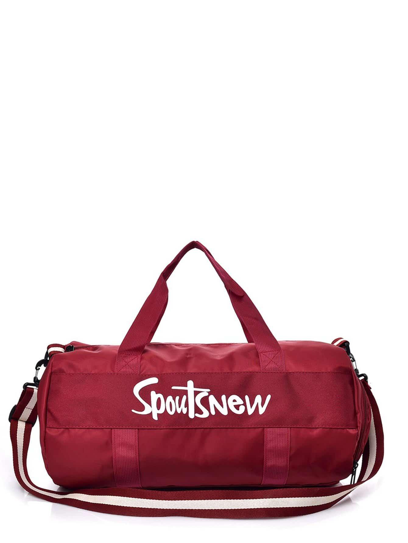 Купить Видспорта красный Дорожная сумка для мужчины, null, SheIn