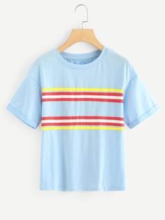Striped Tunic Tee