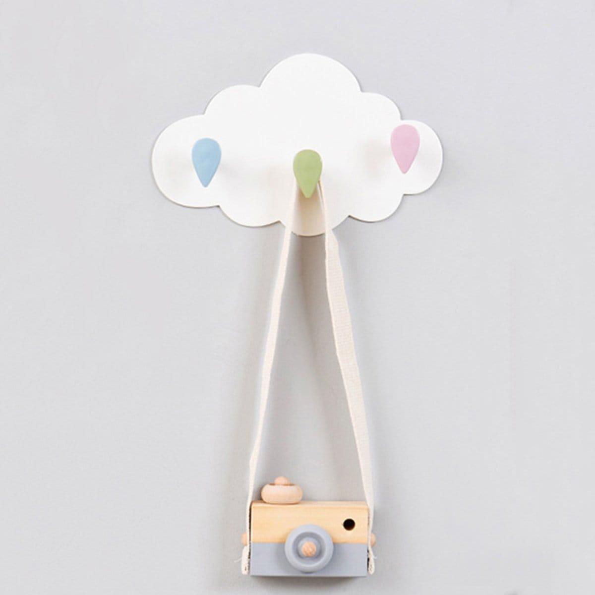 Kapstok in vorm van wolk