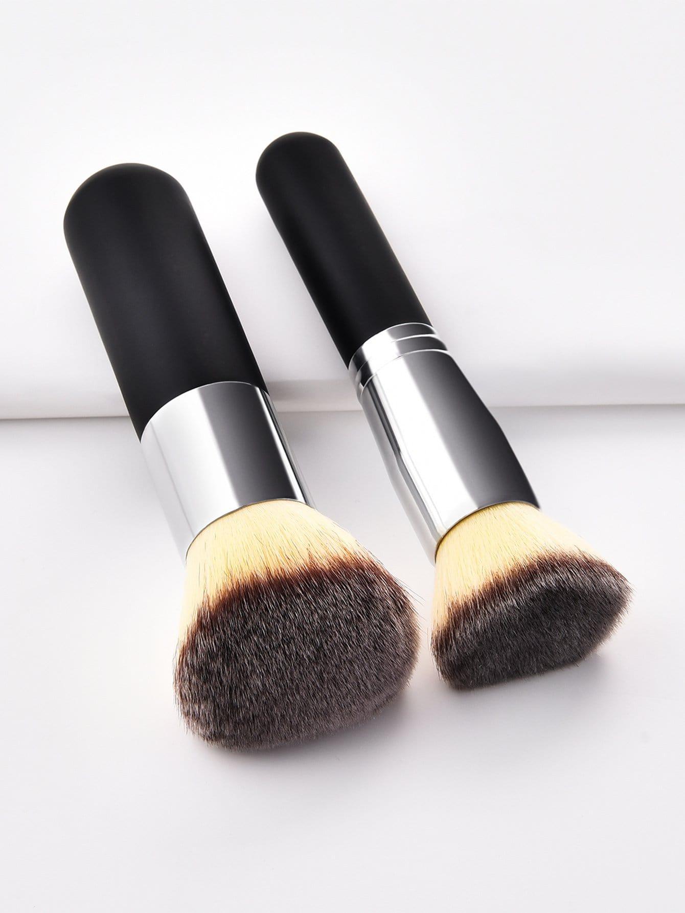 Poudre de Maquillage Pinceau 2pcs