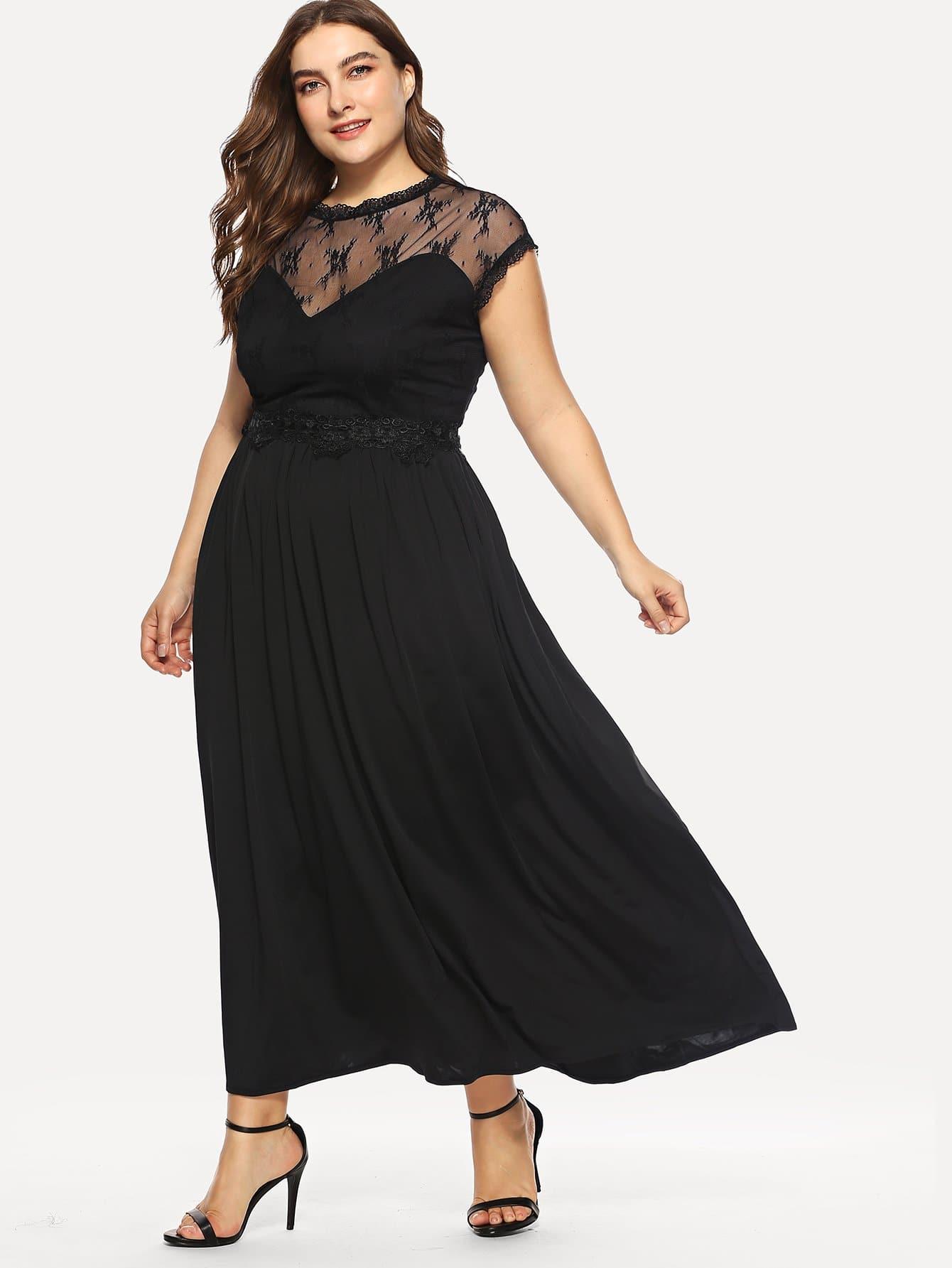 Купить Модное платье с открытой спиной, Franziska, SheIn