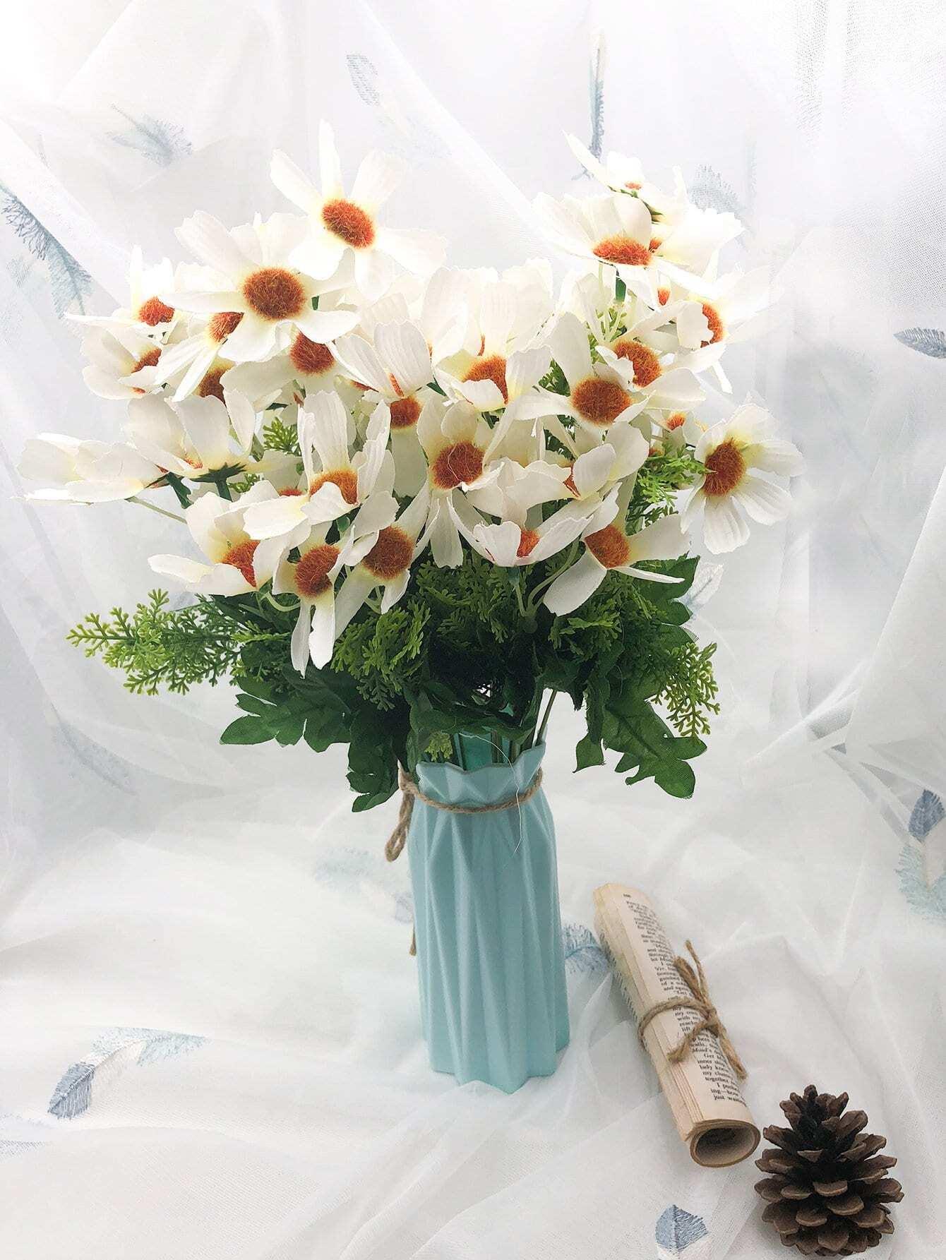Bouquet de Fleurs artificielles Avec 10pcs Branche