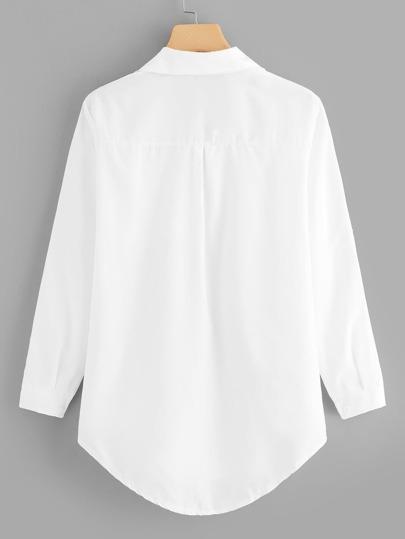 Pianta Tropicale Stampa Uccello Holiday Beach Shirt1